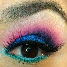#eyeshadow #eyelook #lashes  #sugarpillcosmetics  @beau_dee11