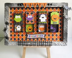 Doodlebug Design Inc Blog: Tuesday Tutorial: Haunted Home Decor by Ro