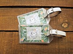 Destination Wedding Favors Luggage Tags for Destination Destination Wedding Favors, Initials, Celebration, Tags, Happy, Handmade, Stuff To Buy, Ideas, Mariage