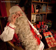 Santa Claus lives in Rovaniemi in Finland