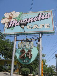 Magnolia Cafe in Austin, Texas