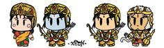 Ramayana SD characters by VachalenXEON.deviantart.com on @DeviantArt