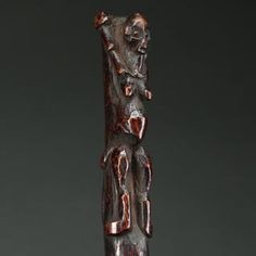 Antique-Pende-Figurative-Staff-with-Exceptional-Patina