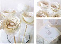 Lantern Designs: First Communion. Centerpieces and Decorations. Cake: Cakes and Cupcakes by Vivianne First Communion Party, Communion Cakes, First Holy Communion, Communion Decorations, Burlap Roses, Baptism Centerpieces, Shabby Chic, Lantern Designs, Lanterns Decor
