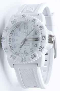 New Luminox Analog 7057.WO White Women's Watch Swiss Quartz Polyurethane #Luminox #Sport
