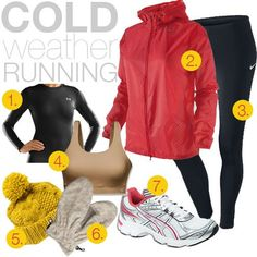 cold weather running by jen loves kev Cold Weather Running Gear, Winter Running, Cold Weather Outfits, Workout Attire, Workout Wear, Sporty Outfits, Cute Outfits, Running Outfits, Walking Gear