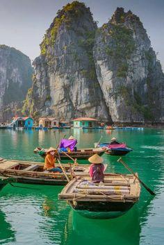 Ha Long Bay, Vietnam @Synthia Imbert Van Sweete