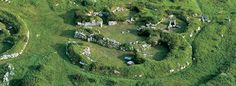 Chysauster: Iron Age settlement of courtyard houses, not currently occupied. West Cornwall, Cornwall England, Holidays In Cornwall, English Heritage, Great Britain, Beautiful World, Adventure Travel, Places To See, Tours