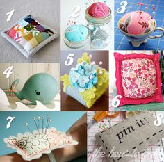 The How-To Gal: DIY Pin Cushion Round-up