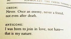 Antigone, Sophocles