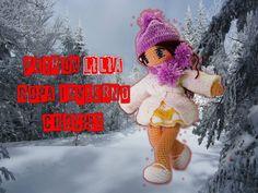 Crochet muñeca, ropa de invierno. Lilia parte 1
