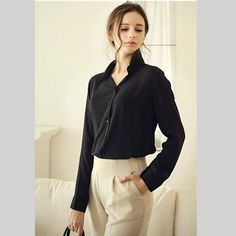 UNOMATCH WOMEN FORMAL WEAR LONG SLEEVED SHIRT AND BLOUSE BLACK Product Code: UWSB794 ☏ For Contact : +1 201 665 5009 #unomatchshop #dress #sexy #womendress #shirts #blouses #partydress #fashion #usafashion