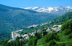 Bubion,  one of the high villages of Las Alpujarras, Spain's highest mountain range.  One of the three traditional Moorish villages passed through during the rio Poqueira walk, or enroute to the high mountains.