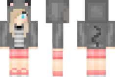Shycat Minecraft Skin ------ @Katie Styles This is the skin you need!