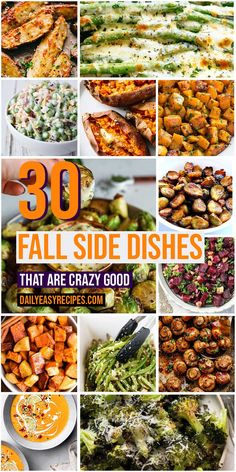 30 Fall Side Dishes Worth Serving For Meals – My Recipes and Meal Plans Easy Clean Eating Recipes, Easy Meals, Healthy Recipes, Side Dish Recipes, Side Dishes, Veggie Dishes, Fall Dishes, Dinner Sides, Vegetable Sides