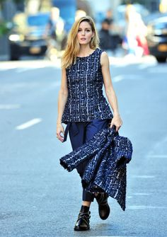 The Olivia Palermo Lookbook : Olivia Palermo PhotoShoot in New York City