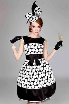polka dots and champagne...