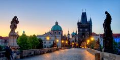 Explore the Charles Bridge and other iconic sights of Prague.