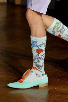 Walter Van Beirendonck Spring / Summer 2014 men's socks