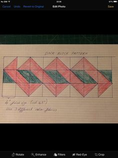 A great, complex-appearing border that's built of easy half-square triangles in just two different color pairs! Related corner/border at https://www.pinterest.com/pin/38702878023804504/  More trick patterns at https://www.pinterest.com/yrauntruth/quilt-tricks-hacks/ and https://www.pinterest.com/yrauntruth/quilt-paper-piecing-foundation-piecing/