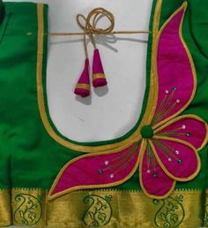 New Saree Blouse Designs, Saree Designs Party Wear, Patch Work Blouse Designs, Best Blouse Designs, Simple Blouse Designs, Stylish Blouse Design, Blouse Patterns, Traditional Blouse Designs, Mirror Work Blouse Design