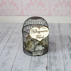 "Large Rustic Wedding ""Honeymoon Fund"" Sign for Your Rustic, Country, Shabby Chic Wedding, Bridal Shower, or Bachelor/Bachelorette Party on Etsy, $8.99"