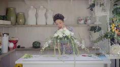 Floristry Tutorial: Martini Glass Flower Arrangement