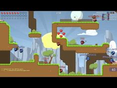 Teeworlds - RAW Gameplay 4 - Teeworlds is a Free to Play [F2P], 2D Shooter Multiplayer Game
