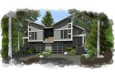 hybridCore Homes #multifamilyhomes #design #architect #home #squawvalley