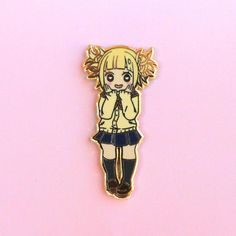My hero academia – Miss Magpie Art My Hero Academia Merchandise, Anime Merchandise, Bag Pins, Himiko Toga, Jacket Pins, Dibujos Cute, Fanarts Anime, Anime Fnaf, Pin And Patches