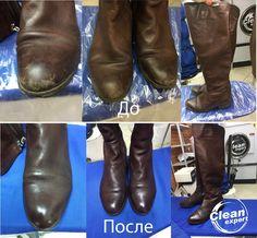 """Чистка, ремонт и окрас обуви в """"Клин Эксперт""""👠👢👞👡 Ваши туфли, сапоги, ботинки станут как новые!  🚙 Ждем вас: ул. Моисеенко, д. 24 в любой день с 9:00 до 21:00. ☎ Звоните: +7 (812) 748-27-64 и заказывайте бесплатную доставку!  #cleanexpert #клинэксперт #спб #spb #санктпетербург #осень"""
