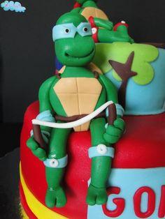 Tartarugas Ninja e o seu grande fã, Gonçalo