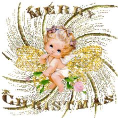 Stunning image - - from the clip art category animated Merry Christmas gifs & images! Merry Christmas In Italian, Merry Christmas Images Free, Christmas And New Year, Christmas Animated Gif, Mickey Christmas, Tinkerbell, Celebrations, Angel, Animation