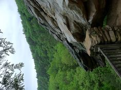 One of my family's favorite hiking destinations close to home. Balanced rock/ Trough Creek State Park, near Raystown PA