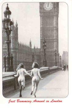 Bumming around in London