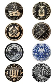 Military and government seal plaques can be used to honor veterans or those currently serving, memorialize events, mark government buildings, among many other purposes. These plaques are ready for outdoor application and are available in bronze, brass and aluminum.
