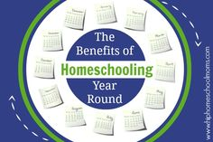 The Benefits of Homeschooling Year Round with a FREE 3 Year Printable Homeschool Planner | Hip Homeschool Moms