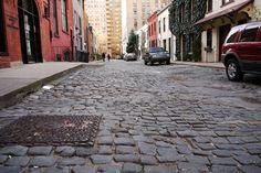 Cobblestone's of Greenwich Village ~ Washington Mews near NYU and the Village Blend