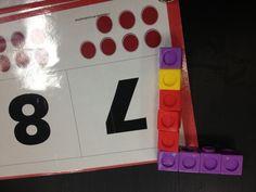 Creating Numbers with Interlocking Cubes: Mrs. Cardenas' Bilingual Prek Classroom