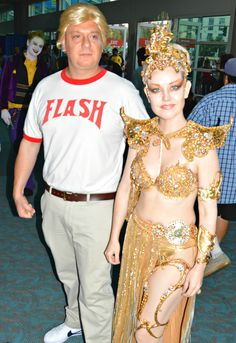 Delightful couples costumes spotted at the 2016 San Diego Comic Con. Flash Gordon ...  sc 1 st  Pinterest & Flash Gordon Costume ideass :) | Halloweener :) | Pinterest | Flash ...