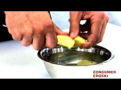 Técnicas básicas de cocina: Cómo cortar las patatas
