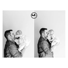 Black & White portraits of Father and Daughter, by Tri-Cities, WA photographer Adored by Meghan