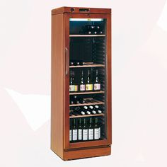 Luxury Wine Cooler 345 L | Wine Coolers Rental | Rent4Expo.eu Wine Coolers, Wine Rack, Liquor Cabinet, Cool Stuff, Luxury, Storage, Furniture, Home Decor, Self