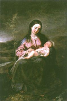 Alonso Cano-The virgin with the child #TuscanyAgriturismoGiratola
