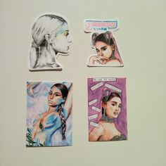 Handmade Ariana Grande stickers - Sweetener (No tears left to cry, God is a woman), Thank U, Next rings) don't call me angel Dont Call Me, Thank U, Art For Sale, Ariana Grande, Crying, Angel, God, Stickers, Woman