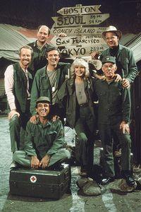 M*A*S*H - (1972-1983). Starring: Alan Alda, Wayne Rogers, McLean Stevenson, Loretta Swit, Larry Linville, Gary Burghoff, Mike Farrell, Harry Morgan, Jamie Farr, William Christopher & David Ogden Stiers. Guest List: Larry Wilcox, Sorrell Booke, James B. Sikking, Leslie Nielsen, Ron Howard, James Callahan, Mariette Hartley, Pat Morita, John Ritter, Ed Begley, Jr., Alex Karras, Howard Platt, Shelley Long, Richard Masur, Ned Beatty, Patrick Swayze, Gail Edwards, Mary Jo Catlett & Laurence Fishbu...