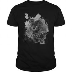 This cute funny Maine Coon Cat Maine Coon Cat in Art will be a great gift for you or your friend who loves cats