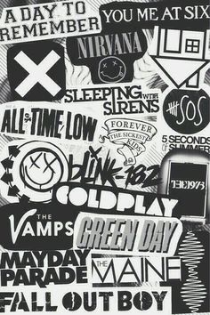 bands wallpaper