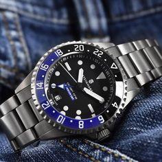 Budget/Mid GMT - Steinhart Ocean Titanium GMT 500 Premium
