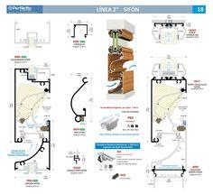 "Sifón Línea 2"" Perfiletto ®  Catálogo Virtual Perfiletto"